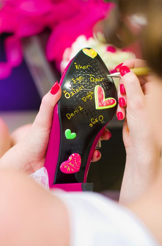 2012 nin En iyi Gelin Ayakkabası