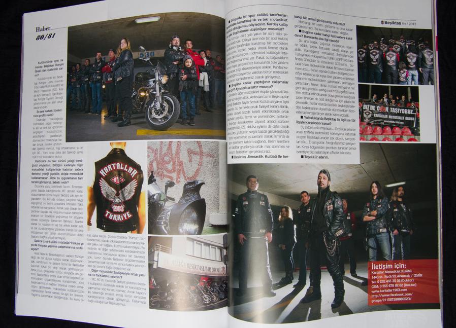 Beşiktaş Dergisi Fotoğraf Çekimi - Nisan 2012