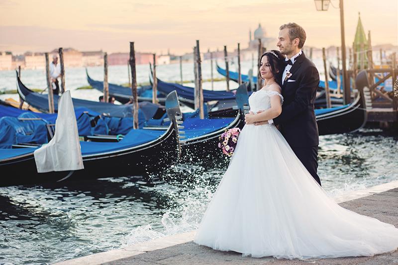 Yurt dışında Düğün Fotoğraf Çekimi / Venedik – İtalya